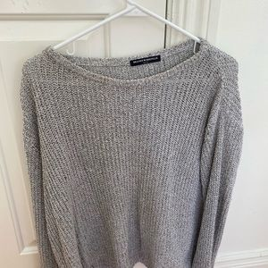 Brandy melville gray sweater